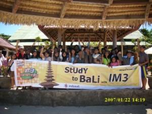 IM3 Sebagai Sponsor Kegiatan Study to Bali 2007, SMA Cepiring