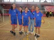 Juara Bersama: tim putri takraw peringkat 3