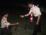 API UTAMA: AKP Asri saat malam renungan
